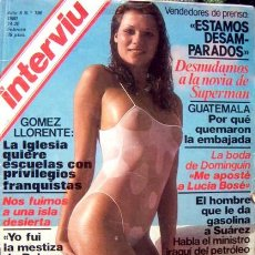 Coleccionismo de Revista Interviú: REVISTA INTERVIU / MARGOT KIDDER, ORCHIDEA DE SANTIS, RAQUEL EVANS, EVA LYBERTEN, JENNIFER JAMES. Lote 45294857
