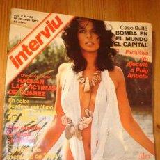 Coleccionismo de Revista Interviú: REVISTA - INTERVIU - Nº 53 AÑO 1977 EN PORTADA: MARIE EKORRE, UA SUECA DE VERDAD. Lote 4439523