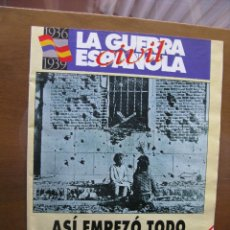 Coleccionismo de Revista Interviú: LA GUERRA CIVIL ESPAÑOLA. AL CUMPLIRSE CIEN AÑOS DEL NACIMIENTO DEL GENERAL FRANCO, INTERVIU OFRECE. Lote 46078461