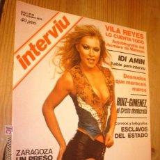 Coleccionismo de Revista Interviú: REVISTA - INTERVIU - Nº 21 AÑO 1976 EN PORTADA LENNY LA DE AZULES OJOS.. Lote 4438877