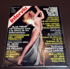 Coleccionismo de Revista Interviú: INTERVIU Nº 115 EVA LEON, EL LUTE, BLAS PIÑAR, ELADIO GARCIA. Lote 46491851