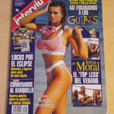 Coleccionismo de Revista Interviú: INMA DEL MORAL / NORMA STROMBERG ***REVISTA INTERVIU*** (1999). Lote 46586281
