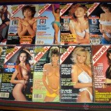Coleccionismo de Revista Interviú: INTERVIÚ NºS 43 88 358 435 509 681 898 944 946 948 952 958 959 980. AÑOS 70, 80 Y 90. . Lote 46588116