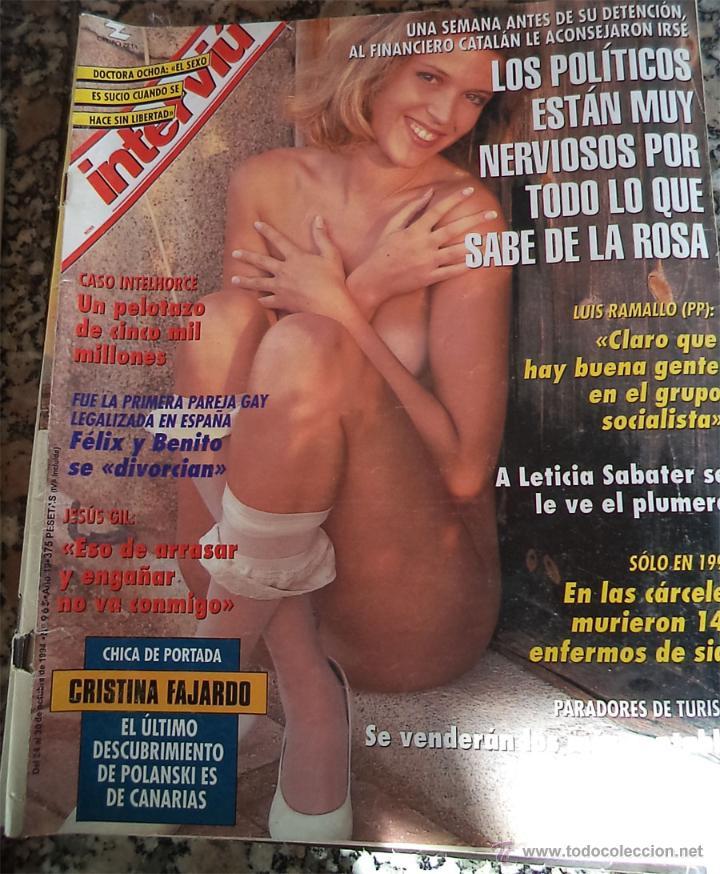 1994 Revista Interviu Nº 965 Leticia Sabater Cristina Fajardo Jesus Gil