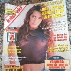 Colecionismo da Revista Interviú: INTERVIU Nº 953-1.994 DOBLE DE LAYDY DI YOLANDA FERNANDEZ MISS LEON. Lote 127619770
