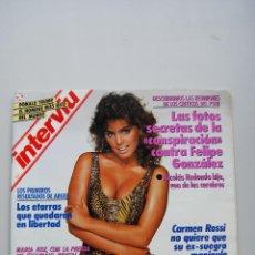 Colecionismo da Revista Interviú: REVISTA INTERVIÚ NUM. 669 - AÑO 1989-GLORIA LASSO. Lote 47069543