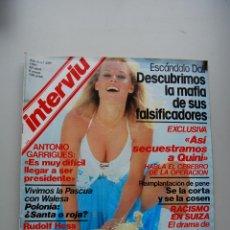 Coleccionismo de Revista Interviú: REVISTA INTERVIÚ NUM. 259 AÑO 1981.-ESCANDALO DALÍ-ANTONIO GARRIGUES-ROCIO JURADO. Lote 47266609