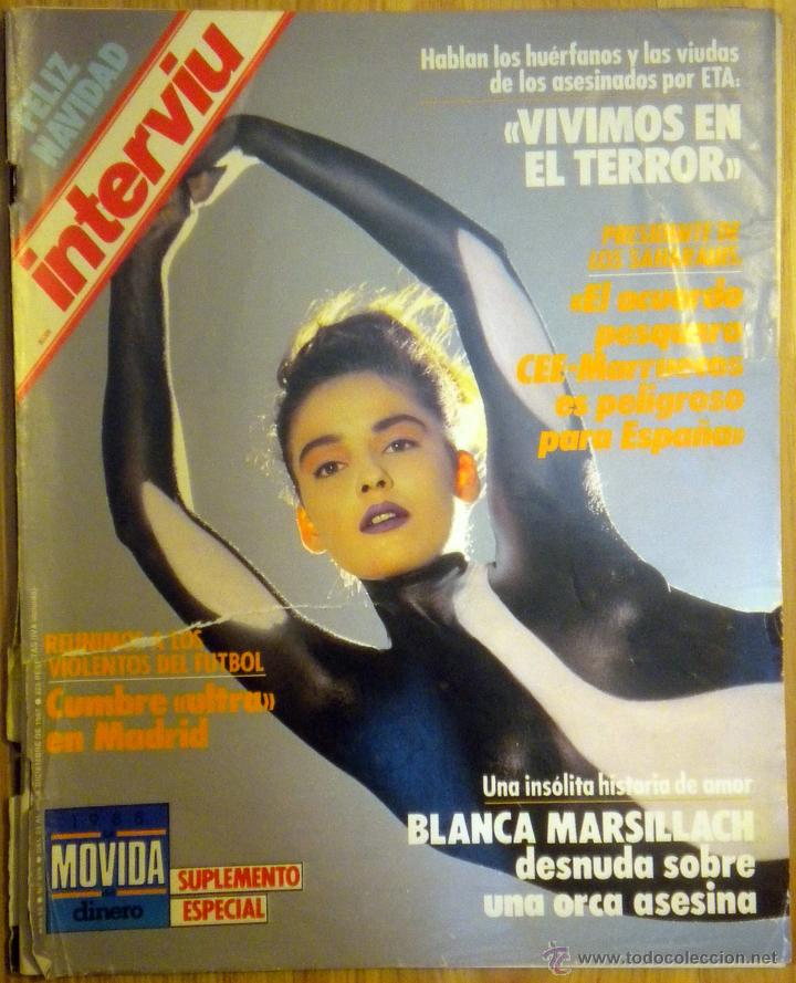 Revista Interviu Blanca Marsillach Desnuda Sobr Verkauft Durch