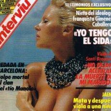 Coleccionismo de Revista Interviú: INTERVIU 529. Lote 48584554