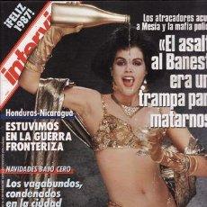 Sammeln von Zeitschriften Interviú - REVISTA INTERVIU Nº 555 AÑO 1986. LOS MEJORES DESNUDOS DEL AÑO . - 48823625