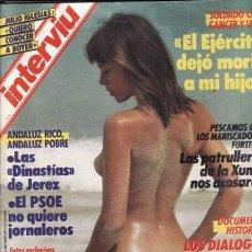 Coleccionismo de Revista Interviú: REVISTA INTERVIU N 539 AÑO 1986. LOS DIALOGOS DE LOS GOLPISTAS CHILENOS. EL PSOE NO QUIERE JORNALERO. Lote 133540114
