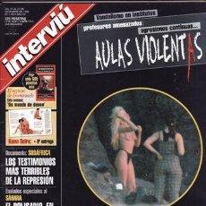 Coleccionismo de Revista Interviú: REVISTA INTERVIU Nº 1182 AÑO 1998. PORTADA: MARIBEL SANZ, LAS FOTOS ROBADAS. TRACEY COLEMAN. . Lote 48851306