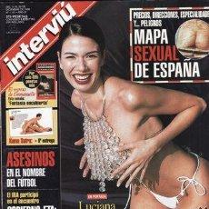 Coleccionismo de Revista Interviú: REVISTA INTERVIU Nº 1181 AÑO 1998. PORTADA: LUCIA GIMENEZ. VANESSA STEVEN ORO PURO. . Lote 48851606