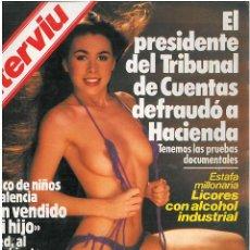Coleccionismo de Revista Interviú: INTERVIU-- LA VERDAD DESNUDA AMPARO LARRAÑAGA. Lote 48901680