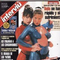 Coleccionismo de Revista Interviú: REVISTA INTERVIU Nº 1134 AÑO 1998. PORTADA: NATASHA LESTER Y EMMA CAESARI. ANNA FALCHI. . Lote 48902667