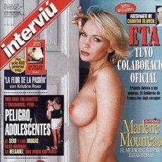 Coleccionismo de Revista Interviú - REVISTA INTERVIU Nº 1129 AÑO 1997. PORTADA: MARLENE MOURREAU. JUCIA O´HIGGINS. - 48902741