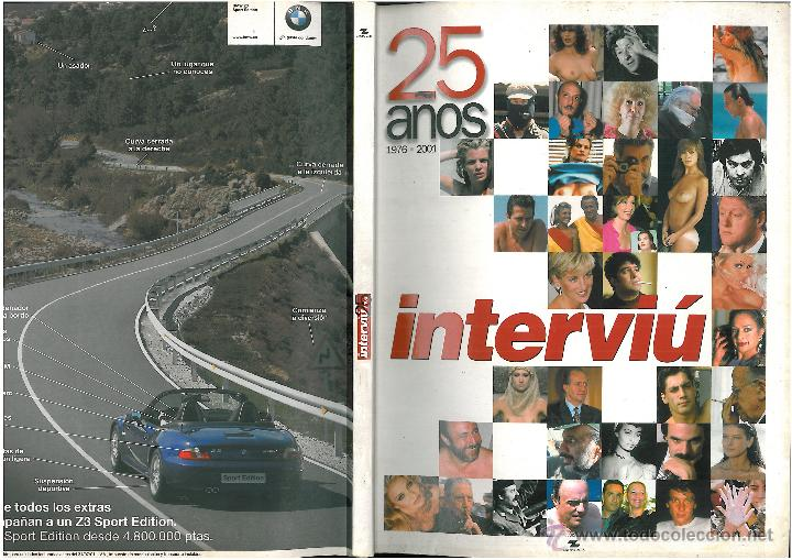INTERVIU ESPECIAL 25 AÑOS (Coleccionismo - Revistas y Periódicos Modernos (a partir de 1.940) - Revista Interviú)