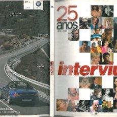 Coleccionismo de Revista Interviú: INTERVIU ESPECIAL 25 AÑOS . Lote 48948218