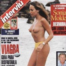 Coleccionismo de Revista Interviú - REVISTA INTERVIU Nº 1157 AÑO 1998. PORTADA: SONIA MOLDES. ALESSIA MERZ. VIAGRA GUIA PARA DISFRUTARLA - 49088008