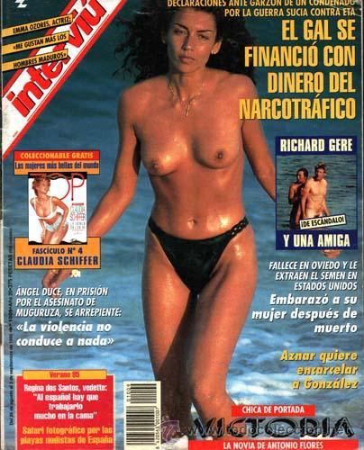 Revista Interviu Richard Gere Desnudo La Novia De Antonio Flores Marlene Mourreau Ramoncin