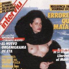 Coleccionismo de Revista Interviú: REVISTA INTERVIU Nº 558 AÑO 1987. PORTADA: HELMUT NEWTON. EDUARDO: EL PRINCIPE QUE NO QUISO SER SOLD. Lote 49208063