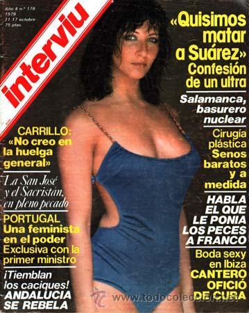 Revista Interviu Nº 178 Mª Luisa San Jose Eva Lyberten Santiago Carrillo Andalucia