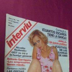Coleccionismo de Revista Interviú: REVISTA INTERVIU. Nº 65. 11 - 17 AGOSTO 1977. SYLVA KOSCINA. ¡ QUE VERDE ES EL BOSQUE !.. Lote 50350860