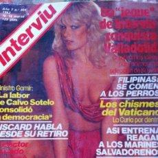 Coleccionismo de Revista Interviú: INTERVIÚ AÑO 7 Nº 304. Lote 50425245