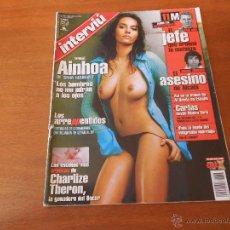 Coleccionismo de Revista Interviú: REVISTA INTERVIÚ Nº 1456 22-28 MARZO DE 2004 AINHOA DE GH , CHARLIZE THERON, INVESTIGACIONES 11-M. Lote 51003695