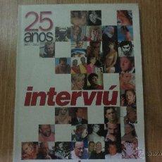 Coleccionismo de Revista Interviú: 25 AÑOS DE INTERVIU1976-2001. Lote 51394173