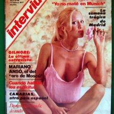 Coleccionismo de Revista Interviú: REVISTA INTERVIU . NUMERO 38 . AÑO 1977 . DOMINIQUE SANDA. Lote 51515349