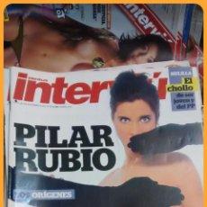 Coleccionismo de Revista Interviú: REVISTA INTERVIÚ 2012 Nº 1868: DESNUDO PILAR RUBIO. Lote 52032834