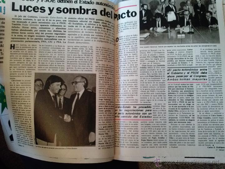 Coleccionismo de Revista Interviú: INTERVIU 1981 LA CHELO DESNUDA BO DEREK DALI - Foto 4 - 52086667