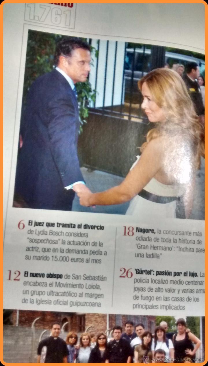 Nagore Gran Hermano Interviu revista interviú 2010 nº 1761: obispo munilla, - vendido en