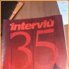 Coleccionismo de Revista Interviú: REVISTA INTERVIÚ SUPLEMENTO EXTRA ESPECIAL 35 AÑOS DE PERIODISMO EN LIBERTAD. Lote 52987911