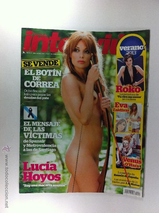 Portada Y Reportaje Completo Lucia Hoyos Desnud Sold Through