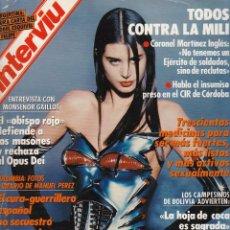 Coleccionismo de Revista Interviú: INTERVIÚ Nº701. DEBBIE BOYLAND. Lote 54227806