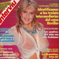 Coleccionismo de Revista Interviú: #SAMANTHA FOX# PORTADA Y REPORTAJE / REVISTA INTERVIU 659 / DICIEMBRE 1989/ 20. Lote 61937411