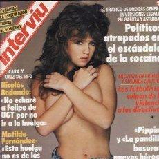 Coleccionismo de Revista Interviú: #MODELOS ENTRE 13 Y 16 ANOS# PORTADA Y REPORTAJE / REVISTA INTERVIU 656 / DICIEMBRE 1988/2. Lote 55997901