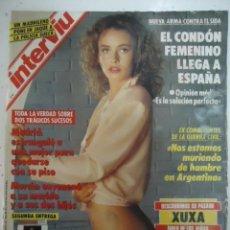 Coleccionismo de Revista Interviú: #PETRA HANDLOVA# PORTADA Y REPORTAJE / REVISTA INTERVIU 818 / ENERO 1992 / 60. Lote 101197972