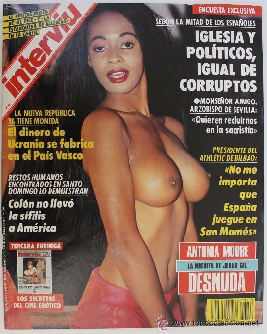 #ANTONIA MOORE# PORTADA Y REPORTAJE / REVISTA INTERVIU 819 / ENERO 1992 / 33 (Coleccionismo - Revistas y Periódicos Modernos (a partir de 1.940) - Revista Interviú)