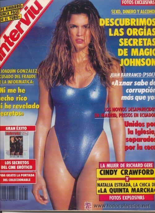 #CINDY CRAWFORD# PORTADA Y REPORTAJE / REVISTA INTERVIU 821 / ENERO 1992/4 (Coleccionismo - Revistas y Periódicos Modernos (a partir de 1.940) - Revista Interviú)