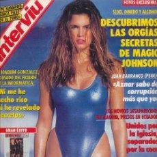 Coleccionismo de Revista Interviú: #CINDY CRAWFORD# PORTADA Y REPORTAJE / REVISTA INTERVIU 821 / ENERO 1992/4. Lote 54301180