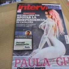 Coleccionismo de Revista Interviú: PAULA GRAN HERMANO 15 DESNUDA CON TETAS OPERADAS - GIBRALTAR - INTERVIU. Lote 54332340