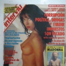 Coleccionismo de Revista Interviú: #MELINDA KIS# PORTADA Y REPORTAJE / REVISTA INTERVIU 859 / OCTUBRE 1992/1600. Lote 54419182