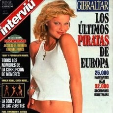 Coleccionismo de Revista Interviú: REVISTA INTERVIU / EVA HERZIGOVA, FERNANDO ARRABAL, ISABEL GEMIO, VEDETTES DE PARIS, PILAR MIRO. Lote 54534749