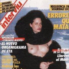 Coleccionismo de Revista Interviú: #HELMUT NEWTON# PORTADA Y REPORTAJE / REVISTA INTERVIU 558 / ENERO 1987/1. Lote 54564479