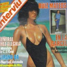 Coleccionismo de Revista Interviú: REVISTA INTERVIU 429 * RUIZ MATEOS + MARISOL DESNUDA + CAMILO JOSE CELA + NATALIA FIGUEROA / 33. Lote 101138860
