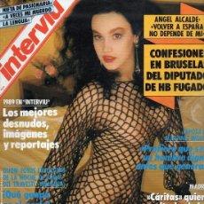 Coleccionismo de Revista Interviú: #JOANA FIGUEIRA# PORTADA Y REPORTAJE / REVISTA INTERVIU 711 / DICIEMBRE 1989/1050. Lote 54597811