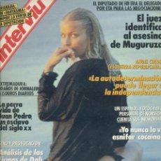 Coleccionismo de Revista Interviú: #BO DEREK# PORTADA Y REPORTAJE /REVISTA INTERVIU 715 / ENERO 1990 POSTER GIGANTE ANGELA Y SABRINA/17. Lote 61938500